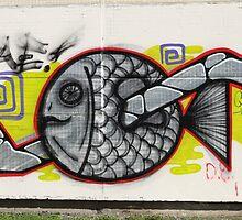 fish graffiti by mrivserg