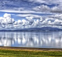Solway Firth Panorama Sticker