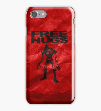 Free Hugs From a ReDead! iPhone Case/Skin