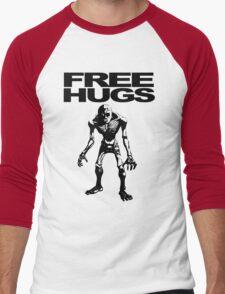 Free Hugs From a ReDead! Men's Baseball ¾ T-Shirt