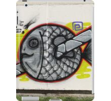 fish graffiti iPad Case/Skin