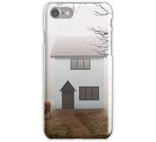 Country House In Mist iPhone Case/Skin