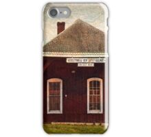Middletown NJ Railway Station iPhone Case/Skin