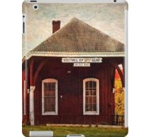 Middletown NJ Railway Station iPad Case/Skin