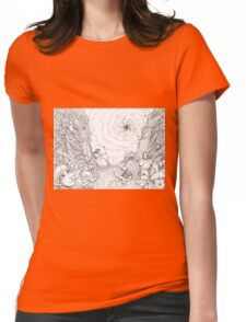 The Wave Of Time And Space Womens Fitted T-Shirt