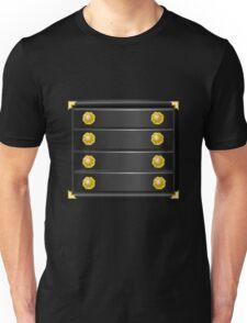 Glitch furniture mediumcabinet black japanese medium cabinet Unisex T-Shirt