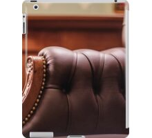Soft leather chair iPad Case/Skin