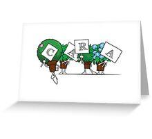 Plant Poses - Cara Greeting Card