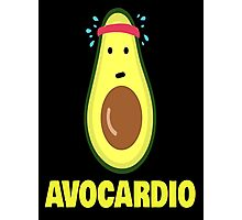 Avocardio shirt Avocado workout health Photographic Print