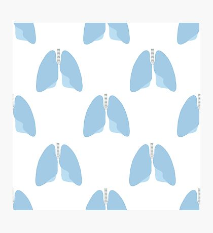 human lungs pattern Photographic Print