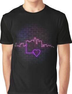 Neon Love - Los Angeles Graphic T-Shirt