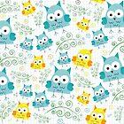 Baby Owl Garden by Accidental Rabbit