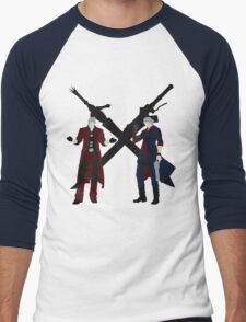 Dante & Nero Men's Baseball ¾ T-Shirt