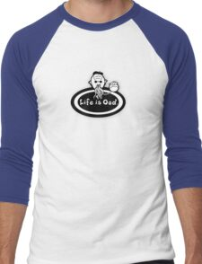 Life is Ood Men's Baseball ¾ T-Shirt