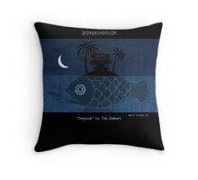 """Denpasar - Bali"" by Toni Demuro Throw Pillow"