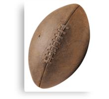 Brown Pigskin Football Canvas Print