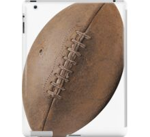Brown Pigskin Football iPad Case/Skin