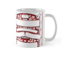 Vintage Hand Drawn Graphic Banners and Labels Mug