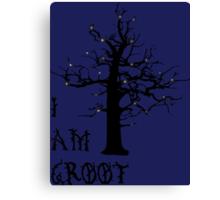 I Am Groot (Glow) Canvas Print