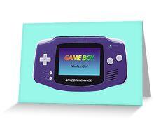 Game Boy Advance  Greeting Card