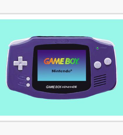 Game Boy Advance  Sticker