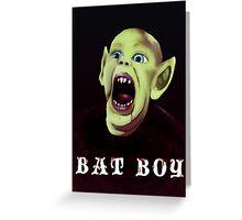 Bat Boy Greeting Card