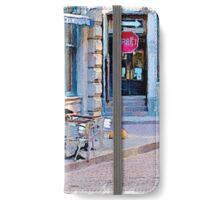Sidewalk Cafe iPhone Wallet/Case/Skin
