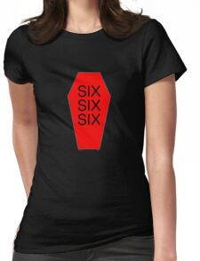 SIX SIX SIX Womens Fitted T-Shirt