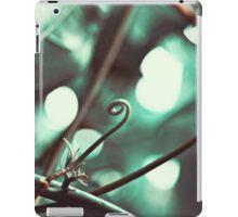 Curled Green iPad Case/Skin