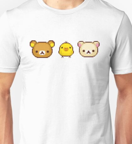 Pixelated Rilakkuma Unisex T-Shirt