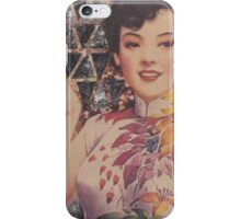 Woman with Triangles iPhone Case/Skin