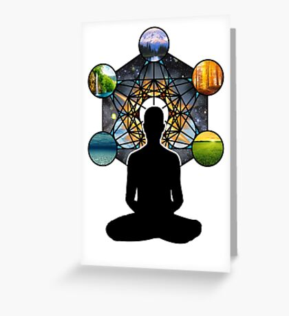 Sacred Meditation Greeting Card