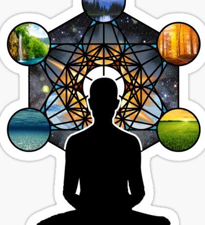 Sacred Meditation Sticker