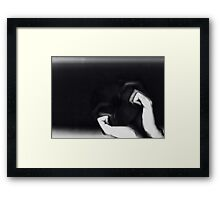0204 Framed Print