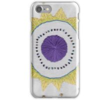 Embroidered Mandala Pattern 1 iPhone Case/Skin