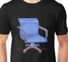 Glitch furniture officechair office chair blue plastic Unisex T-Shirt