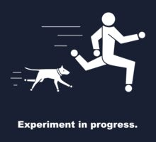 Experiment In Progress - Running (Clothing) Kids Tee