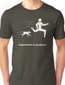 Experiment In Progress - Running (Clothing) T-Shirt