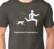 Experiment In Progress - Running (Clothing) Unisex T-Shirt