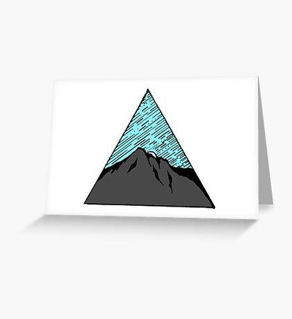 Light Night Sky Greeting Card