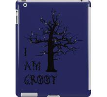 I Am Groot (Glow) iPad Case/Skin