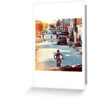 Running Greeting Card