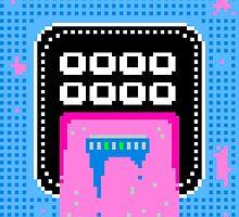 Pink Pixel Vomit by animalstyle