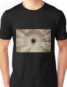 Chantilly Gerber daisy in antique sepia photograph Unisex T-Shirt