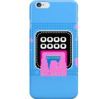 Pink Pixel Vomit iPhone Case/Skin