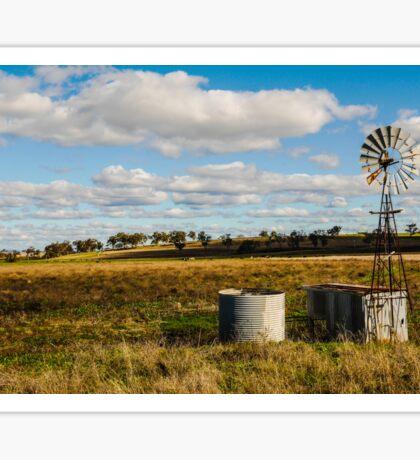 Windmill near Merriwa, New South Wales Sticker