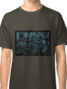 USGS TOPO Map California CA Trona 302171 1957 250000 geo Inverted Classic T-Shirt
