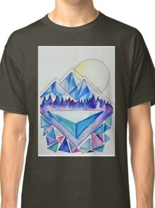 Mountains at Dusk Classic T-Shirt