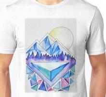 Mountains at Dusk Unisex T-Shirt