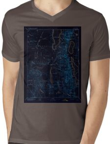 USGS TOPO Map California CA Alturas 299717 1892 250000 geo Inverted Mens V-Neck T-Shirt